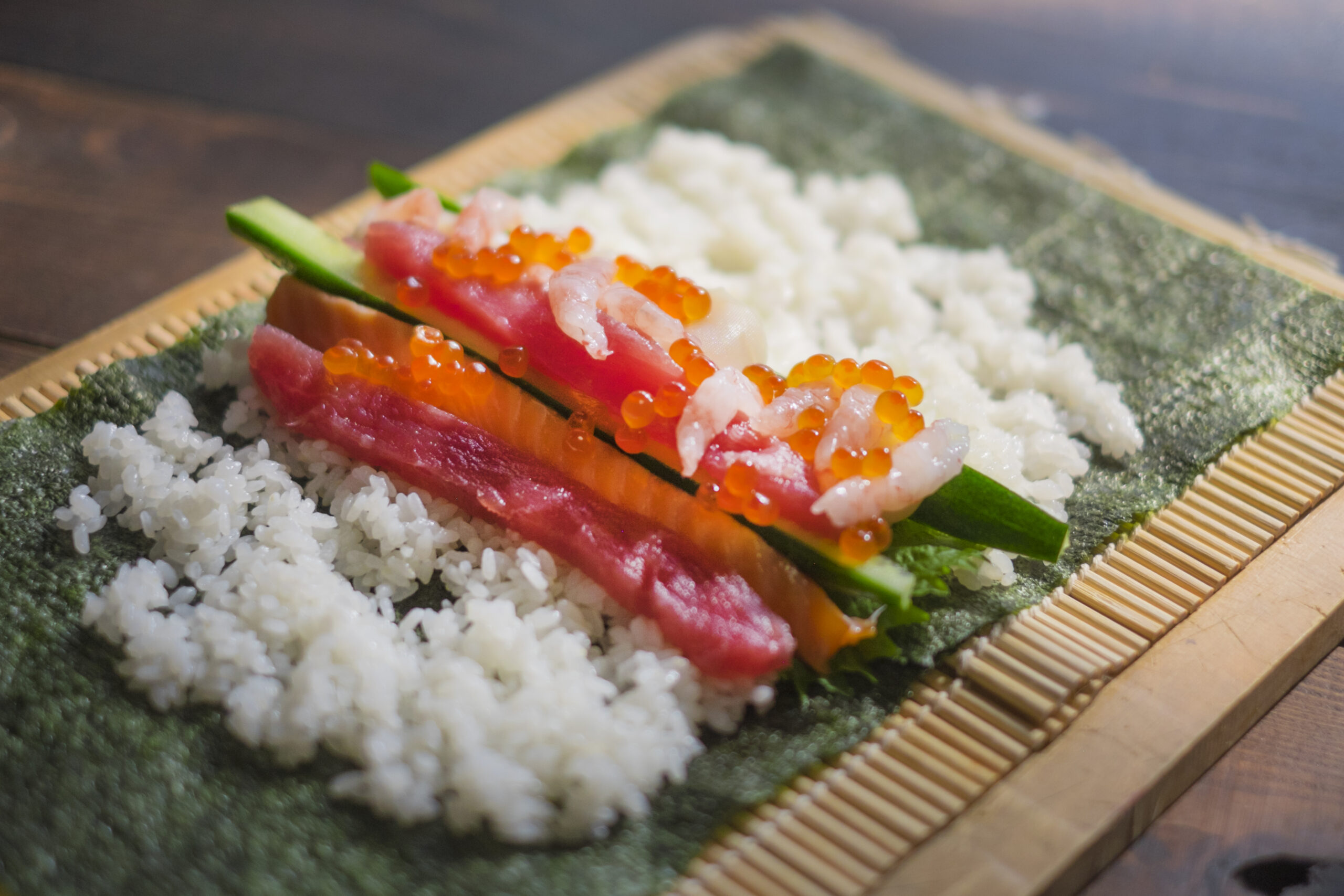 手巻き寿司を作ってみよう